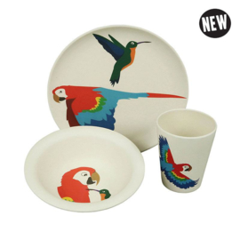 Hungry parrot - kinderservies - Zuperzozial