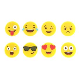 Glasmarkers - emoji (8 stuks) - Balvi