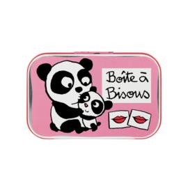 Blikje - boîte a bisous panda - Derrière la porte