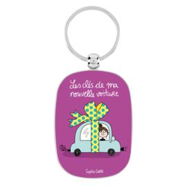 Sleutelhanger - ma nouvelle voiture - Derriere la porte
