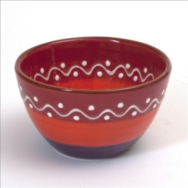 Kom rood - SolO - Bowls and Dishes
