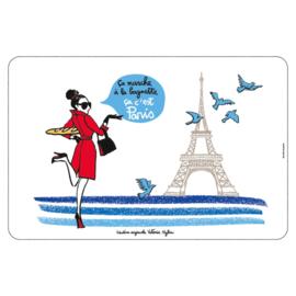 Placemat - ca c'est Paris - Derriere la porte