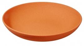 Deep bite plate - bord oranje - Zuperzozial