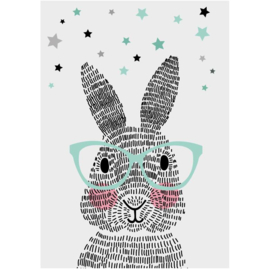 Kaart - mr. rabbit - Sparkling Paper