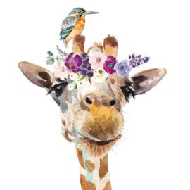 Servet - pretty giraffe - PPD
