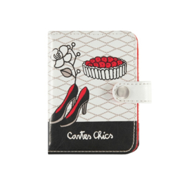 Porte-cartes - miss chic - Derriere la porte