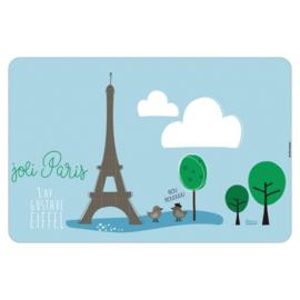Placemat - joli Paris - Derriere la porte