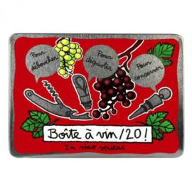 Wijnset in blik - vin / 20! Bordeaux - Derrière la porte