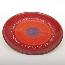 Gebaksbord rood - SolO - Bowls and Dishes