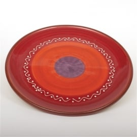Bord voor gebak (rood) - SolO - Bowls and Dishes