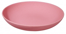 Deep bite plate - bord roze - Zuperzozial