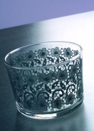 Glas - dentelle - Dejeuner sur l'herbe