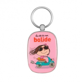 Sleutelhanger -les clés de mon bolide - Derriere la porte