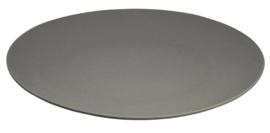 Jumbo bite plate grijs - groot bord/schaal - zuperzozial