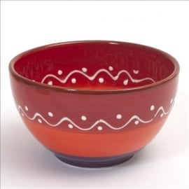 Kom (rood) - SolO - Bowls and Dishes