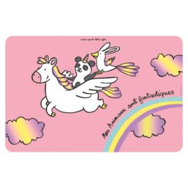 Placemat - animaux fantastiques - Derriere la porte