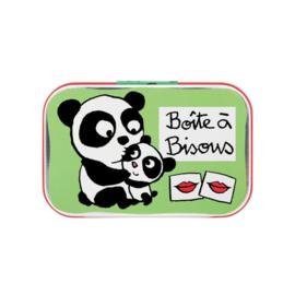 Blikje - boîte a bisous panda - Derriere la porte