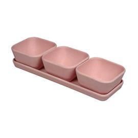 Triple treat - roze - Zuperzozial