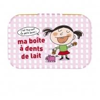Tandenblikje - boîte a dents de lait - Derrière la porte