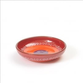 Kom lage rand (rood) - SolO - Bowls and Dishes