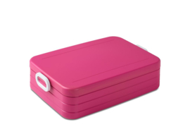 Lunchbox large - roze - take a break - Mepal