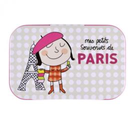 Blikje  - souvenirs de Paris - Derrière la porte
