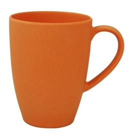 Lean back mug - mug with ear - orange - Zuperzozial