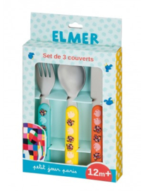 Kinderbestek - Elmer - Petit Jour Paris