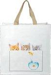 Boodschappentas - katten - Esschert Design