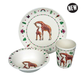 Hungry giraffe - kinderservies - Zuperzozial