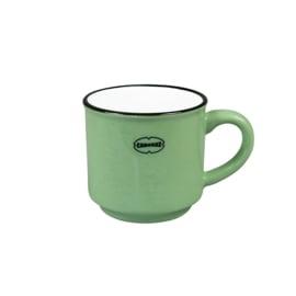 Espressomok emaille look - groen - Cabanaz