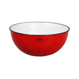 Saladeschaal - salad bowl - rood - Cabanaz