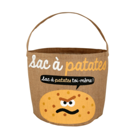 Zak voor aardappelen - sac a patates - Derriere la porte