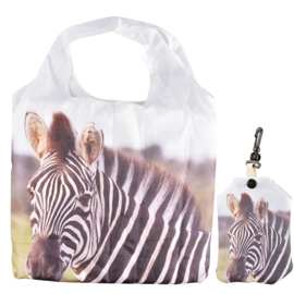 Boodschappentas (vouwtas) - zebra - Esschert Design