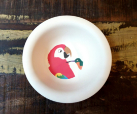 Hungry parrot - diep kinderbord - Zuperzozial