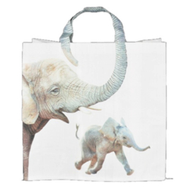 Boodschappentas - olifant - Esschert Design
