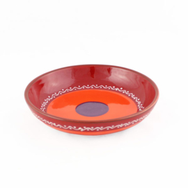Schaal wijd (rood) - SolO - Bowls and Dishes