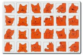 Placemat - Dikkie Dik's pasfoto's - Bekking & Blitz
