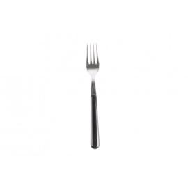 Ontbijtvork zwart - brio - Eme Inox Italy