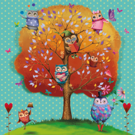 Servet -  owls favourite tree - PPD