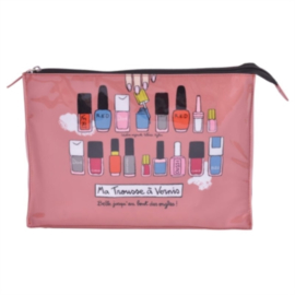 Make-up tas - trousse a vernis - Derriere la porte