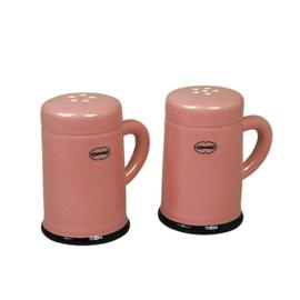 Zout en peper set - salt & pepper shaker - roze - Cabanaz