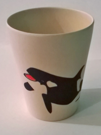 Hungry orca cup - kinderbeker - Zuperzozial