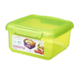 Lunchbox - lunch plus colored lime - Sistema