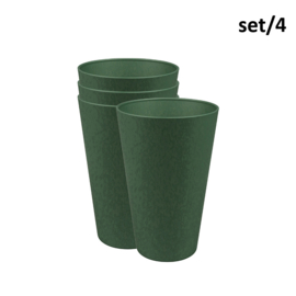 Reload cup large - rosemary green - set 4 - plantfiber - Zuperzozial