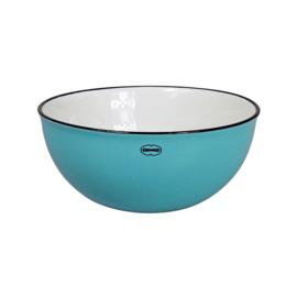 Saladeschaal - salad bowl - blauw - Cabanaz