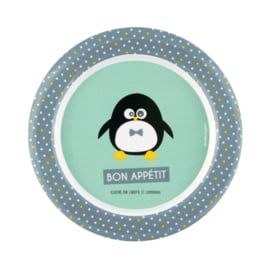 Bord - pinguin - Derriere la porte