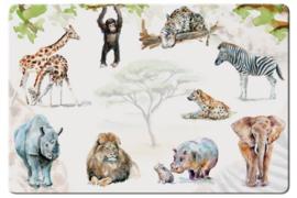 Placemat - Afrikaanse dieren - Bekking & Blitz