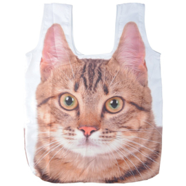 Boodschappentas (vouwtas) - kat/poes - Esschert Design
