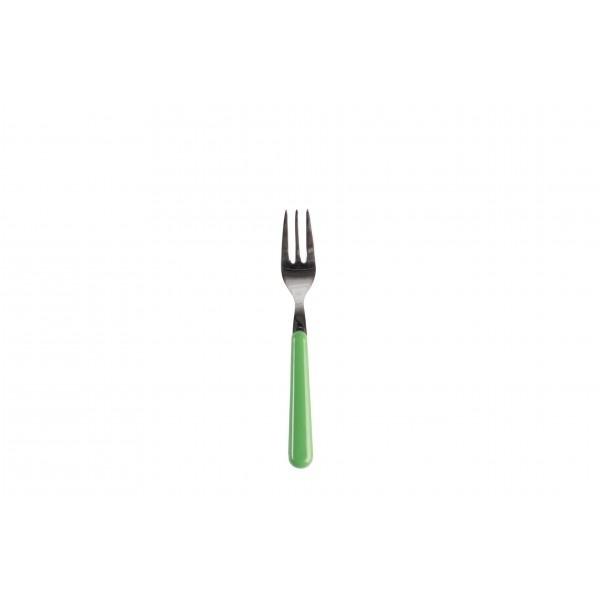 Gebaksvork / dessertvork lichtgroen - brio - Eme Inox Italy